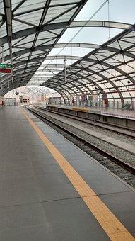 Station, Transport, Train, Steel