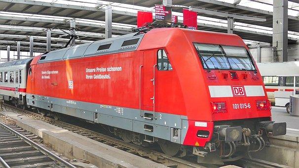 Train, Railway, Motor, Transport System, Railway Line