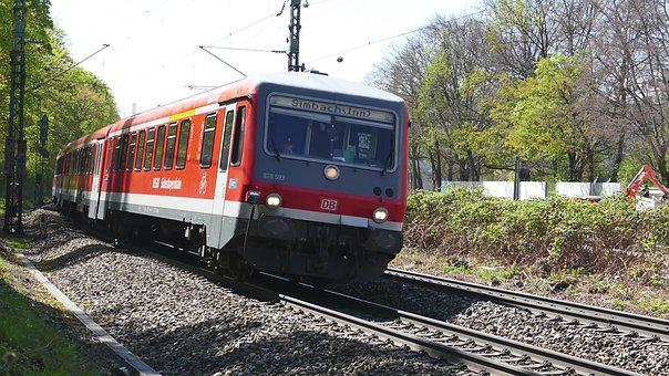 Train, Railway Line, Railway, Transport System, Travel