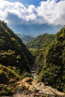 Nature, Mountain, Landscape, Panorama, Wood, Tree, Sky