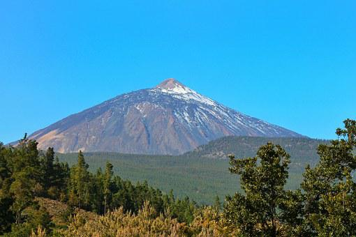 Teide, Mountain, Volcano, Tenerife, Canary Islands