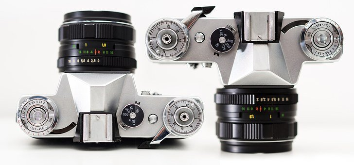 Film, Equipment, Classic, Isolated, Lens, Retro