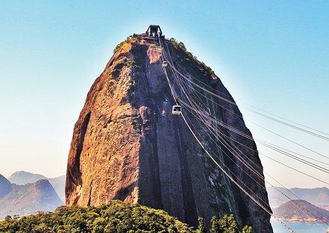 Rio, Sugarloaf, Impressive, Stunning, Landmark, Nature