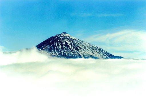 Teide, Volcano, Mountain, Pico Del Teide