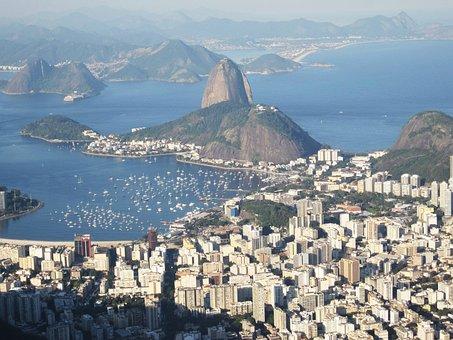 Rio, Views Of The Corcovado, Sugarloaf, Botafogo