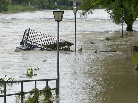 High Water, Road, Gone Down, Damage, Flood Damage