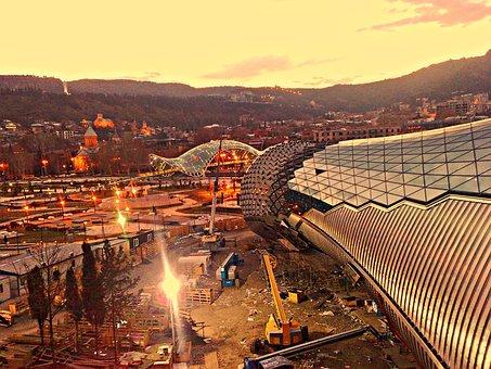 Tbilisi, Europe, Georgia, Travel, Landmark, East, Urban