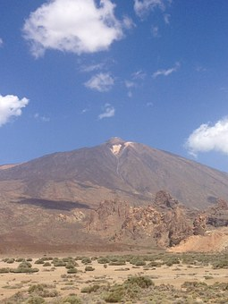 Mountain, Teide, Tenerife, El Teide, Volcano, Spain