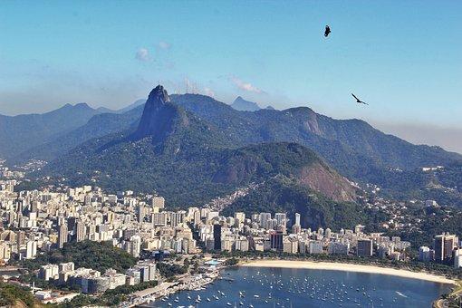 Rio De Janeiro, Views Of Corcovado, View From Sugarloaf
