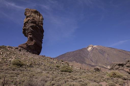 Mountains, Volcano, Canary Islands, Landscape, Teide