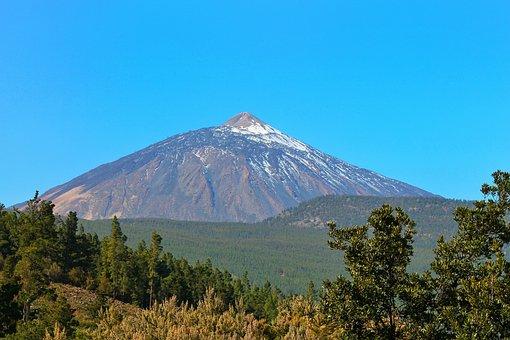 Teide, Mountain, Volcano, Tenerife, Canary Islands