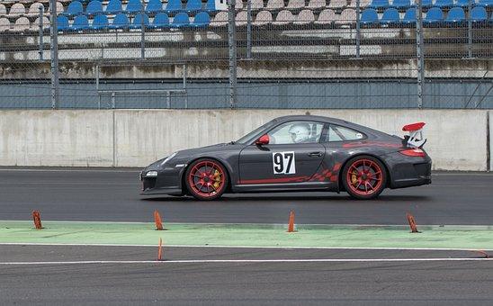 Auto, Porsche, Car Racing, Training, Sports Car