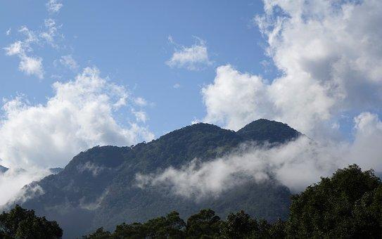 A Bird's Eye View, Mountain, Nature, Sky, Landscape