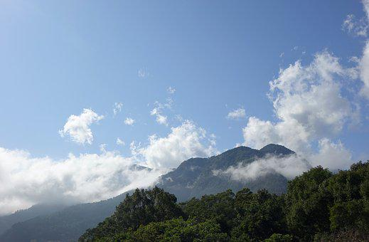 Nature, A Bird's Eye View, Mountain, Sky, Tourism