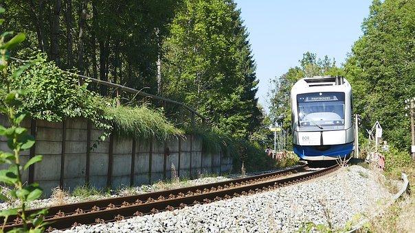 Nature, Train, Railway Line, Railway, Race Track