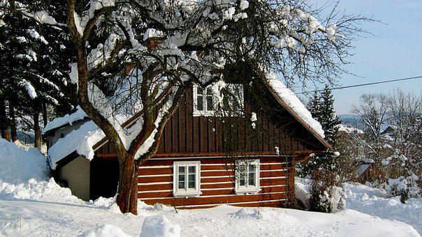 Cottage, Wooden House, Folk Architecture, Old