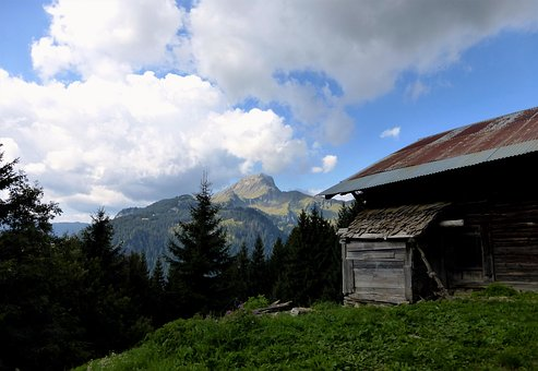 Nature, France, Alps, Outdoor, Panoramic, Mountain