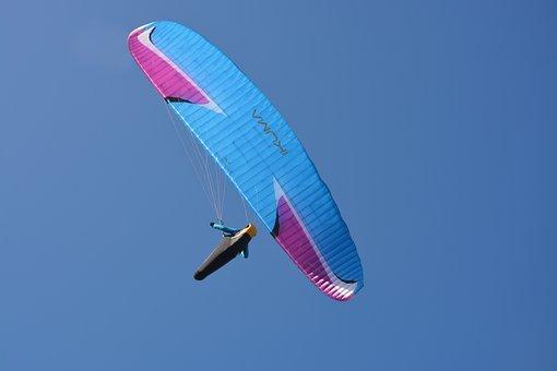Paragliding, Paraglider, Free Flight, Fly, Flight