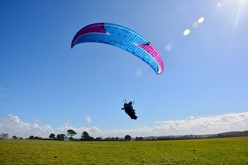Paragliding, Paragliding Landing