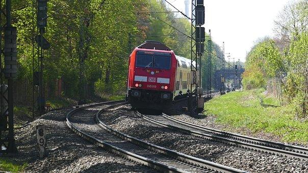 Transport System, Road, Railway Line, Race Track