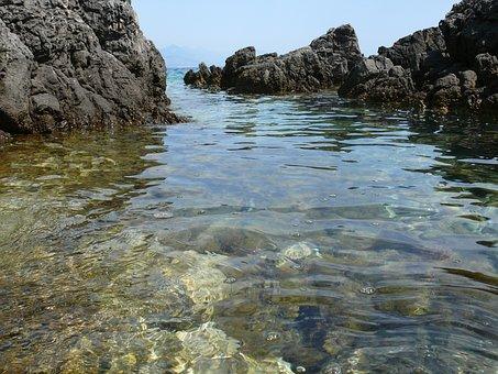 Water, Nature, Seashore, Rock, Landscape, Travel, Sea