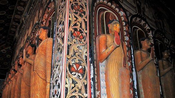 Buddha, Frescoes, Religion, Spirituality, The Art Of