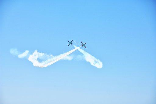 Sky, Plane, Flight, Fly