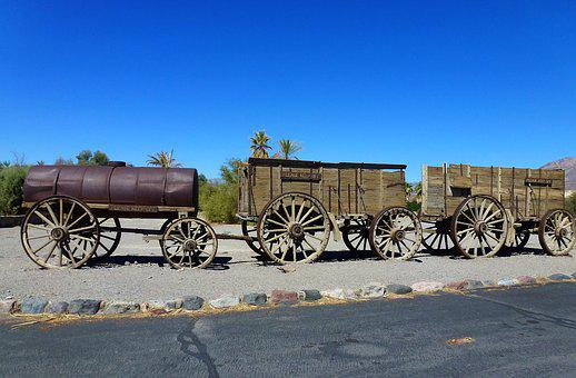 Transport, Usa, Trolley, Carry, No Person, Outdoor