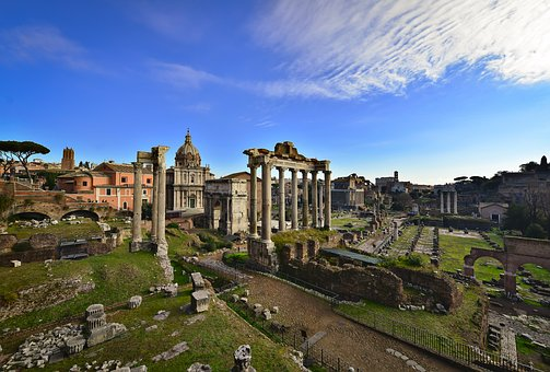 Architecture, Travel, Old, City, Ancient, Panoramic