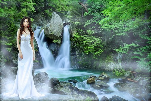 Waterfall, Waters, Nature, River, Flow