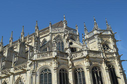 France, Fall, Cathedral, Architecture, Travel, Religion