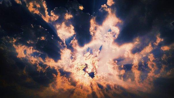 Nature, Dark, Outdoors, Bright, Sun, Panoramic, Desktop