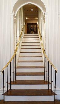 Step, Architecture, Handrail, Steps, Upstairs, Passage
