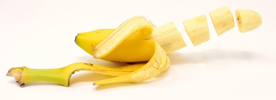 Banana, Fruit, Delicious, Sweet, Yellow, Fruits