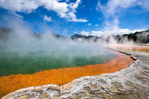 Nature, Landscape, Fountain, Tourism, Waters, Steam