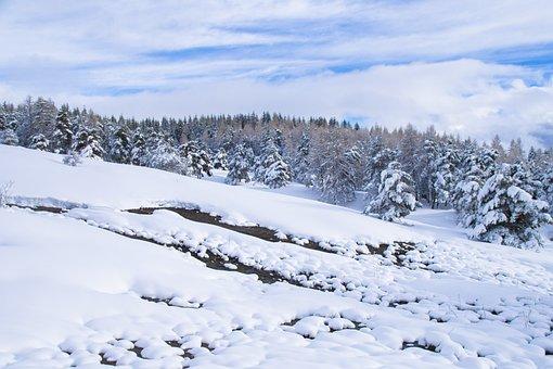 Snow, Winter, Cold, Frost, Frozen, Season, Mountain
