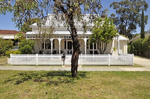 Tree, Lawn, House, Architecture, Grass, Outdoors