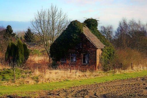 Home, Old, Leave, Break Up, Ruin, Old Building