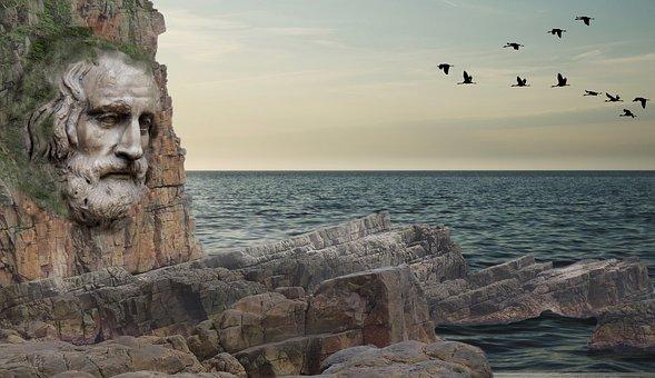 Waters, Rock, Travel, Sky, Panorama, Coast, Landscape