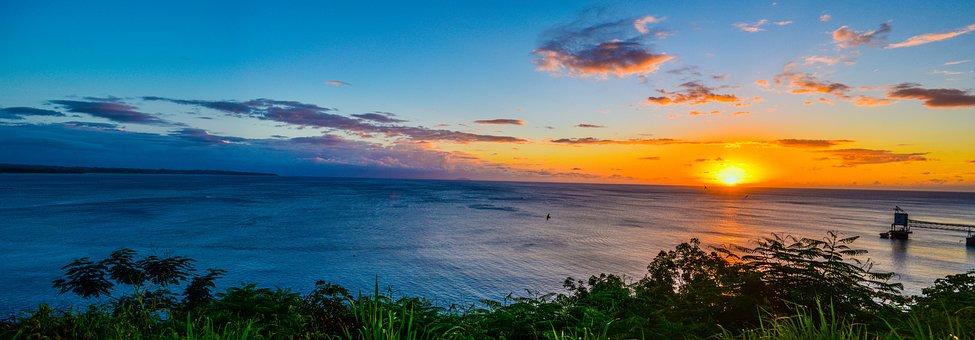 Nature, Body Of Water, Panoramic, Sky