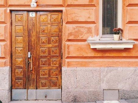 House, Door, Wood, Family, Inside, Entrance, Doorway