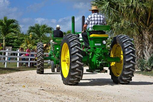 Antique Farm Equipment, Tractor, Wheel, Soil