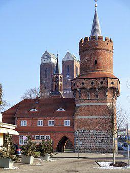 Architecture, Old, Travel, City, Tower, Brandenburg