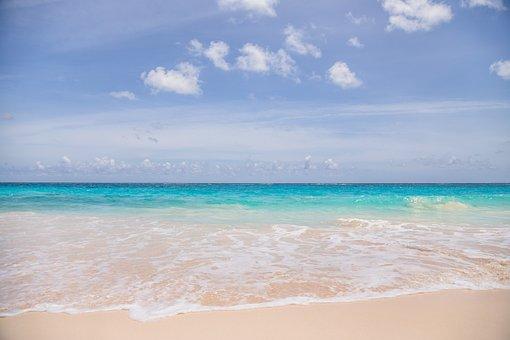 Sand, Summer, Tropical, Water, Sun, Beach, Turquoise