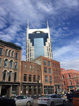 Architecture, City, Building, Travel, Sky, Nashville