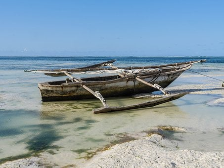 Fishing Boat, Boom, Sailing Boat, Boot, Zansibar