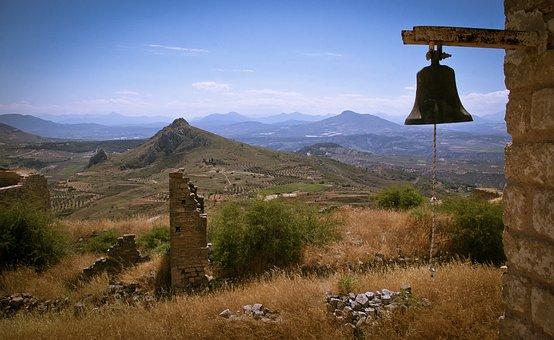Mountain, Travel, Sky, Landscape, Outdoors, Greece