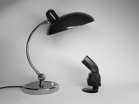 Big And Small, Contradictory, Contrast, Lamp, Light