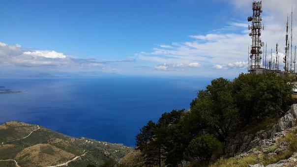 Nature, Panoramic, Sky, Landscape, Travel, Sea
