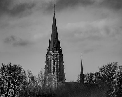 Church, Religion, Architecture, Tower, Cathedral